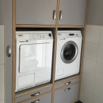 wasmachinekast berken multiplex