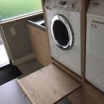 wasmachinekast eiken